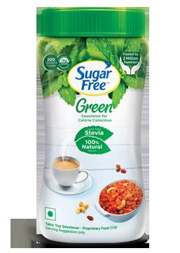 sugar free green natural sweetener sugar free india